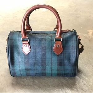 e15e038a8b Polo by Ralph Lauren Bags - Polo Black Watch Plaid Tartan Speedy Doctor Bag